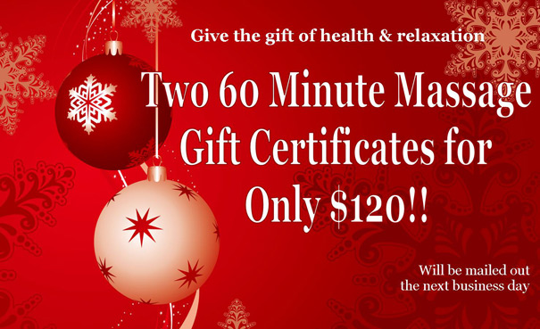 Christmas Special Massage – Ocala Therapeutic Massage by Erin Varney